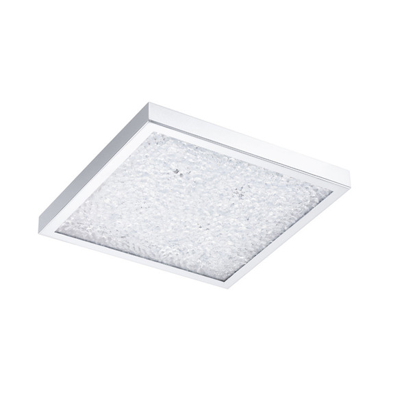 Eglo Cardito 16w LED Crystal Square Ceiling Light 4000K