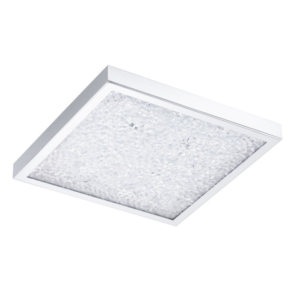 Eglo Cardito 27w LED Crystal Square Ceiling Light 4000K