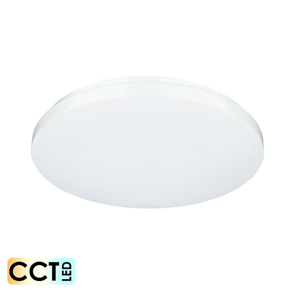 Mercator Franklin 18w CCT LED Ceiling Oyster