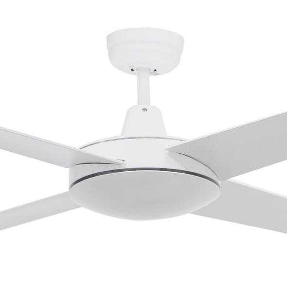 Airborne Ascot 132cm White Plastic Indoor/Outdoor Ceiling Fan