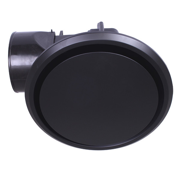 Mercator Novaline II Round/Round Black Exhaust Fan Large