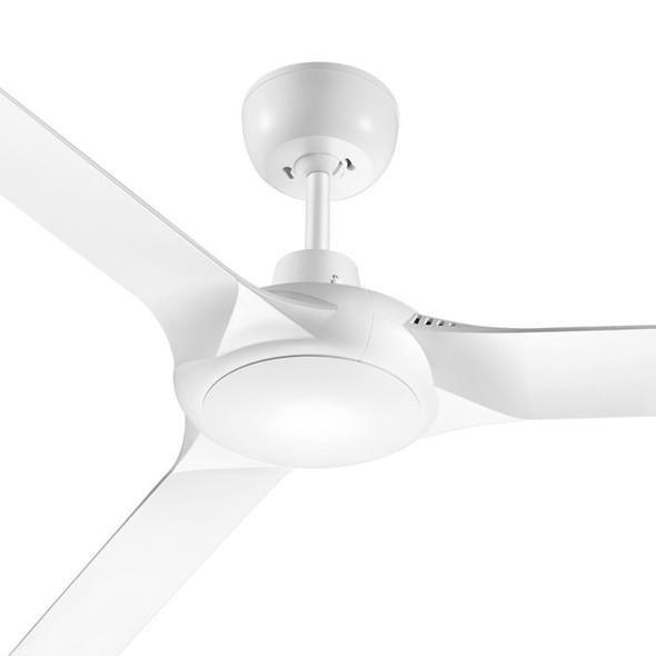 Ventair Spyda 140cm Satin White Plastic Indoor/Outdoor Ceiling Fan