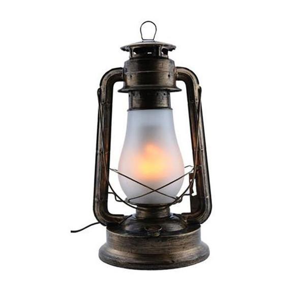 CLA Kerosin1 Bronze Replica Kerosene Table Lamp