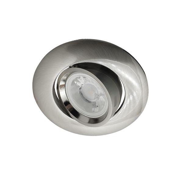 BP 3042A-GF GU10 LED Down Light Gimble Satin Nickel