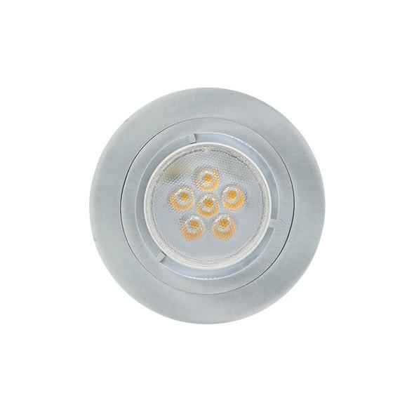 Basic MR16 LED Down Light Brushed Nickel