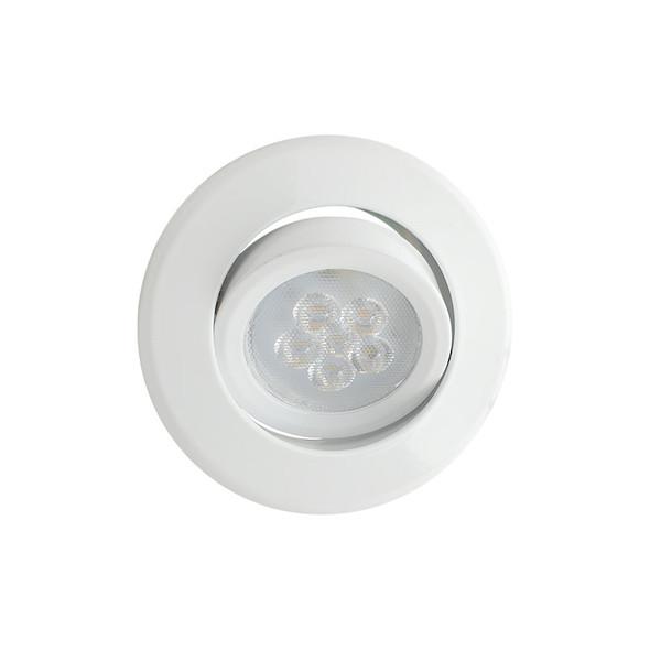Basic MR16 LED Aluminium Down Light Gimble White
