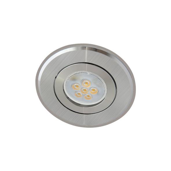 Atom AT1032 MR16 LED Aluminium Down Light Gimble 2 Tone Silver