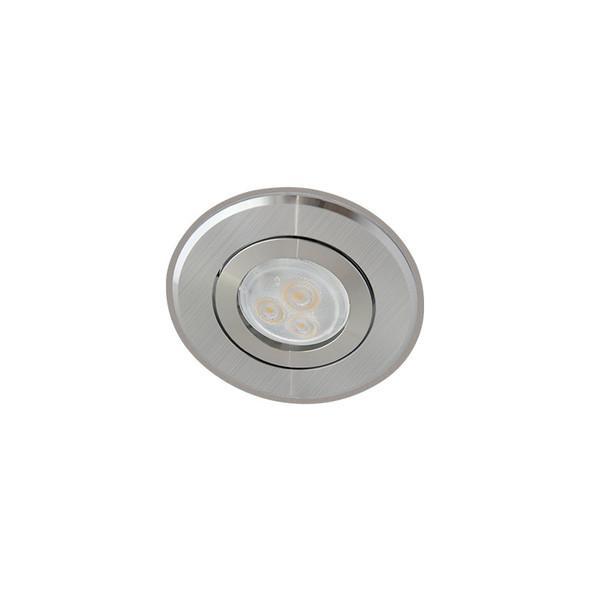 Atom AT1030 MR11 LED Mini Niche Down Light Gimble 2 Tone Silver