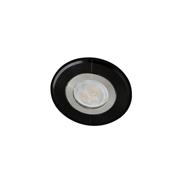 Atom AT1030 MR11 LED Mini Niche Down Light Gimble 2 Tone Black