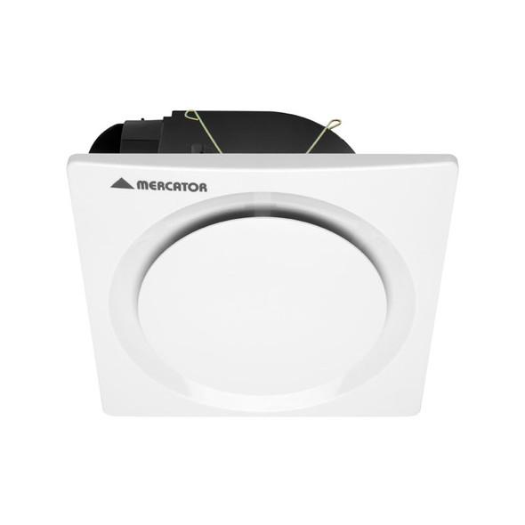 Mercator Novaline Square/Round White Exhaust Fan