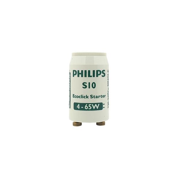 Philips S10 Ecoclick Fluorescent Starter 4-65w