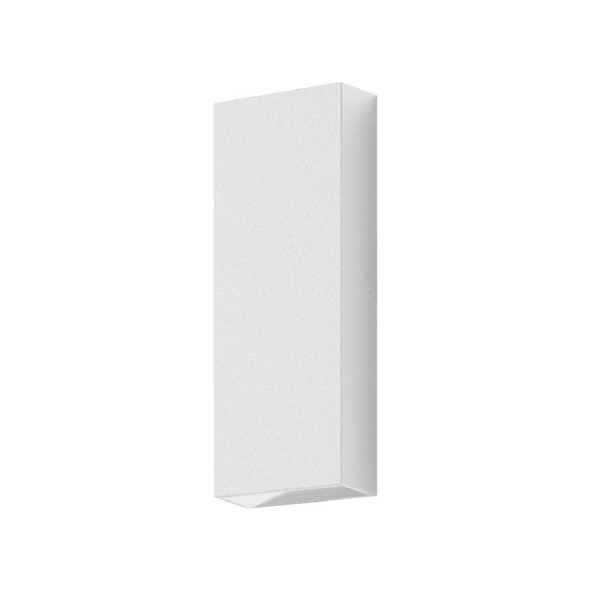 Domus Edge 8 LED Interior/Exterior Up/Down Wall Light White