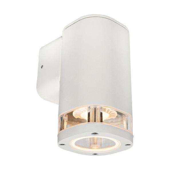 Brilliant Glenelg Ambient LED GU10 Exterior Wall Down Light White