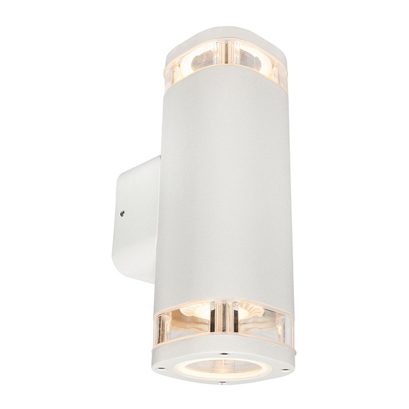 Brilliant Glenelg Ambient LED GU10 Exterior Up/Down Wall Light White