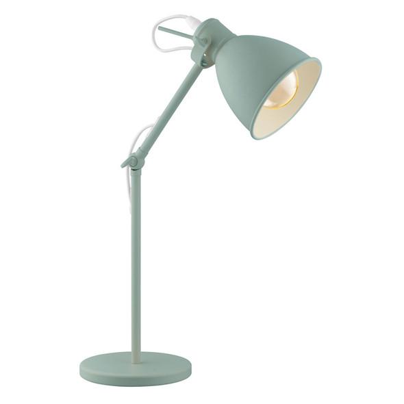Eglo Priddy-P Study Desk Lamp Pastel Light Green