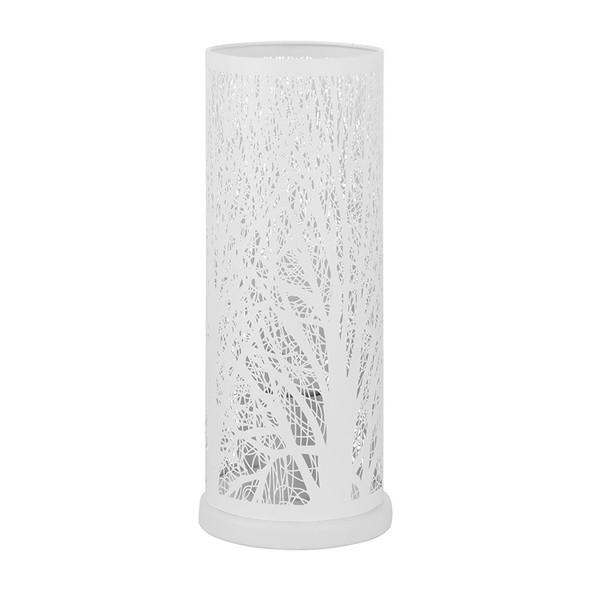 Eglo Hambleton White Metal Pattern Table Lamp