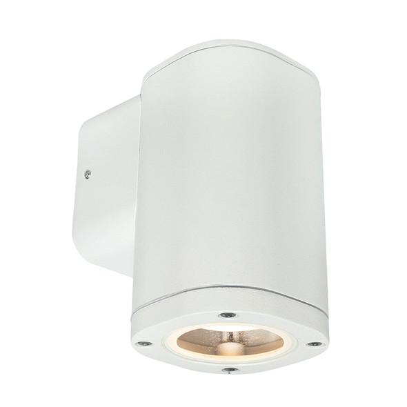 Brilliant Glenelg Plain LED GU10 Exterior Wall Down Light White