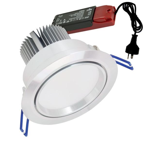 Atom AT9016 15w 4000K LED Down Light Gimble Anodised Aluminium