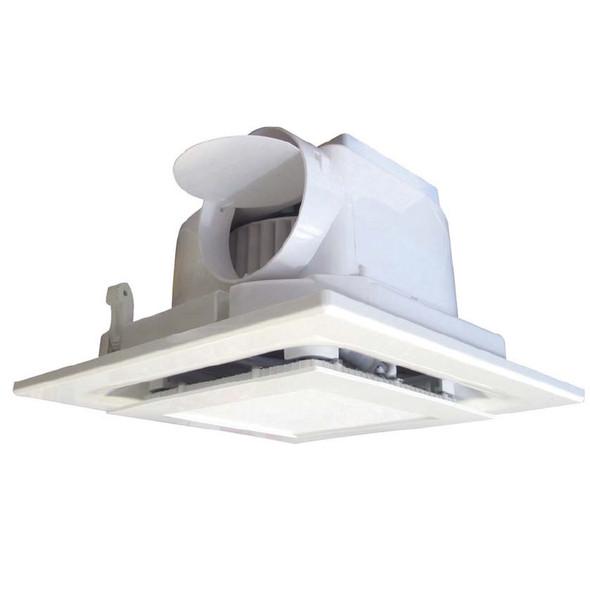 Airware White Exhaust Fan & 16w LED Light