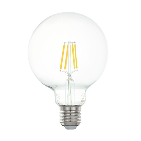 Eglo 6w E27 LED Vintage G95 Sphere Shape