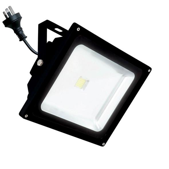 Brilliant Avenger 20w 4200K LED Flood Light Black