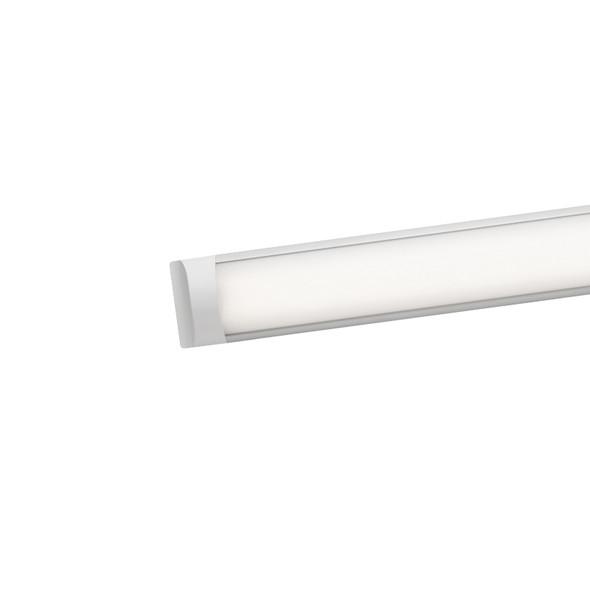Mercator Neo 28w 3000K Slim LED Ceiling Light Silver