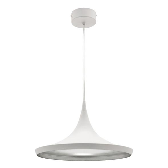Mercator Aiden 15w LED Hanging Pendant White