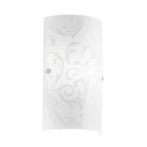 Eglo Amadora Frost Pattern Glass Wall Light