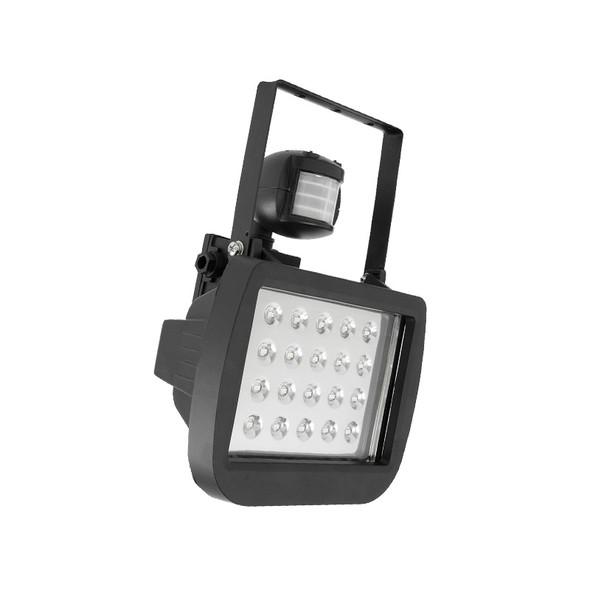 Brilliant Crest 20w 6500K SMD LED Flood Light & Sensor Black
