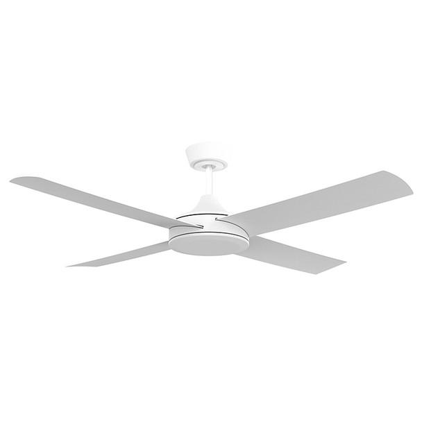Airborne Breeze Silent 132cm White Plastic Indoor/Outdoor Ceiling Fan