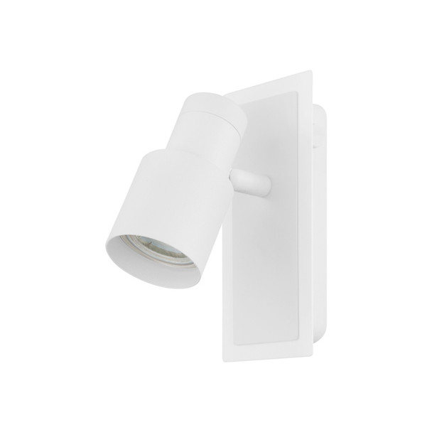 Eglo Davida2 1lt GU10 LED Spotlight Matt White