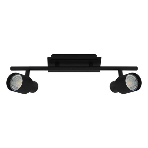 Eglo Davida2 2lt GU10 LED Spotlight Matt Black