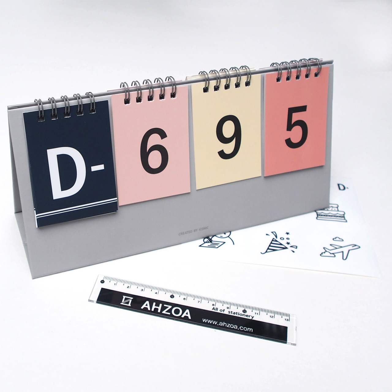 D Day Calendar Package (Color)