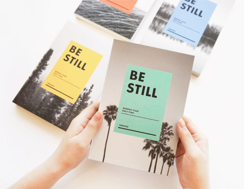 Be Still Undated Planner