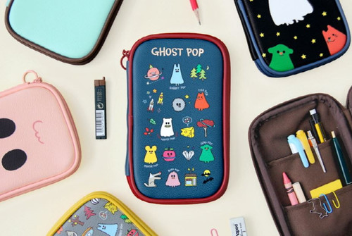 Ghost Pop Pencil Pouch
