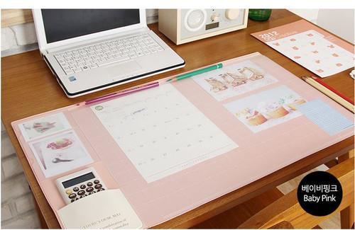 Desk pad basic (babypink)