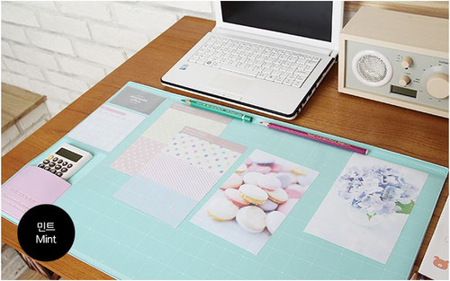 Desk pad basic (mint)