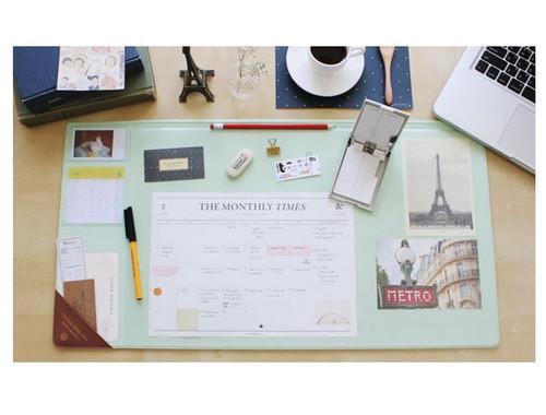 Vintage desk pad wide (mint)