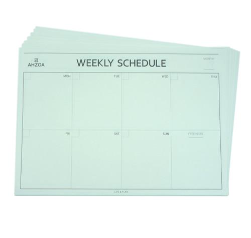 Weekly Desk Pad Scheduler 12ea