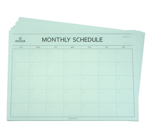 Monthly Desk Pad Scheduler 12ea