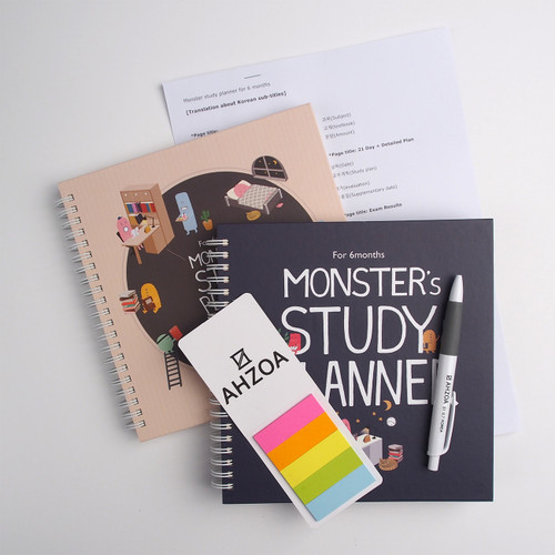 Monster's Study Planner For 6 Months Package
