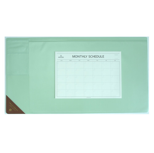 Vintage Desk Mat Ver.2 with Monthly Schedulers (Mint)