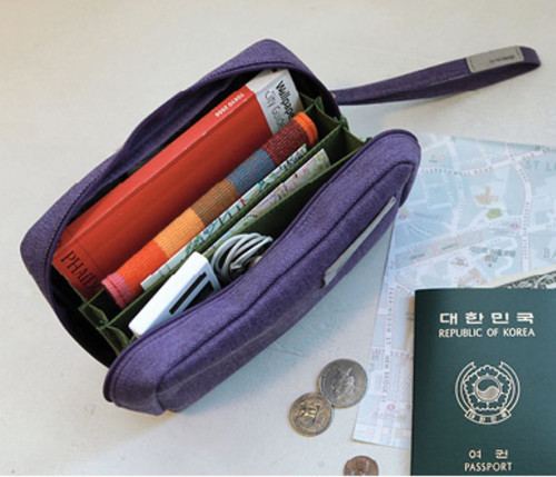 Bankbook Pouch (violet)