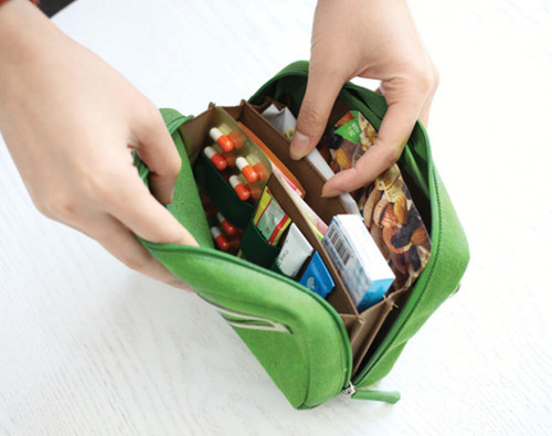 Bankbook Pouch (Green)