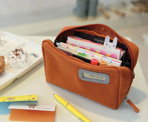 Bankbook Pouch (orange)