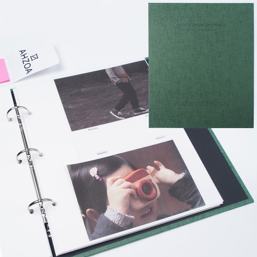 4x6 Inch Pockets Daily Album (Green)
