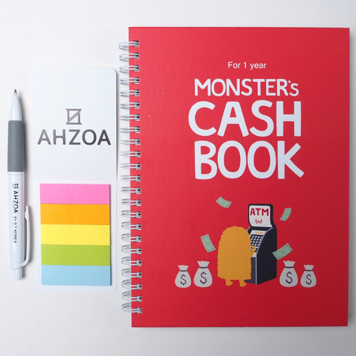 Monster's Cash Book for 1 year Package