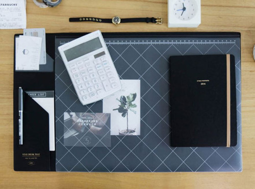 Stay desk pad (Black)