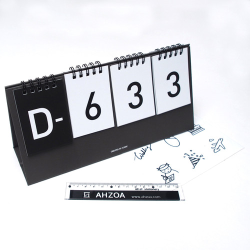 D Day Calendar  Package (Black)