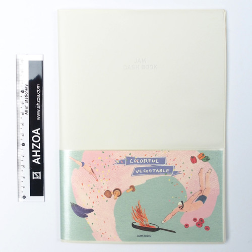 Jam Cash Book For 1 Year (ivory)